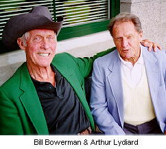 Bill Bowerman and Arthur Lydiard - giants of the sport.