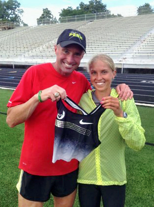 A happy day - for Jordan Hasay and Alberto Salazar, and for runners who love them.